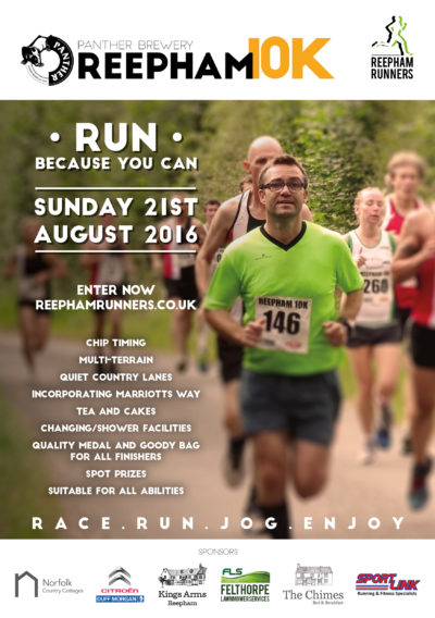 Reepham summer 10k Advert_A5FB